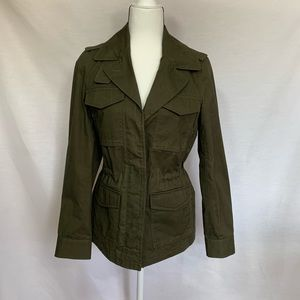 Madewell Utility Inspired Olive Green Jacket